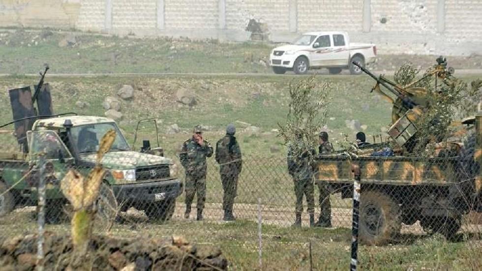 قوات الجيش السوري في درعا جنوب البلاد