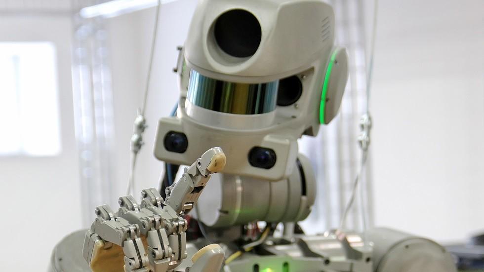 الروبوت الفضائي الروسي Skybot F-850