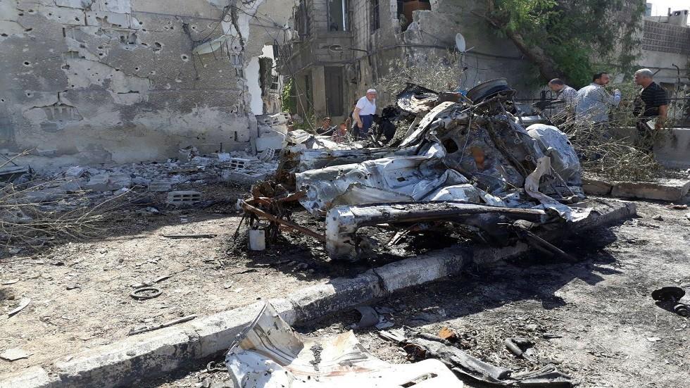 إصابة 3 أشخاص جراء استهداف سيارة مفخخة حاجزا للوحدات الكردية في الحسكة