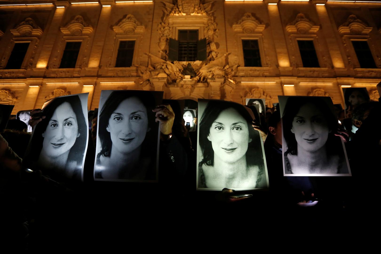 مالطا تحاكم 3 أشخاص بتهمة قتل صحفية