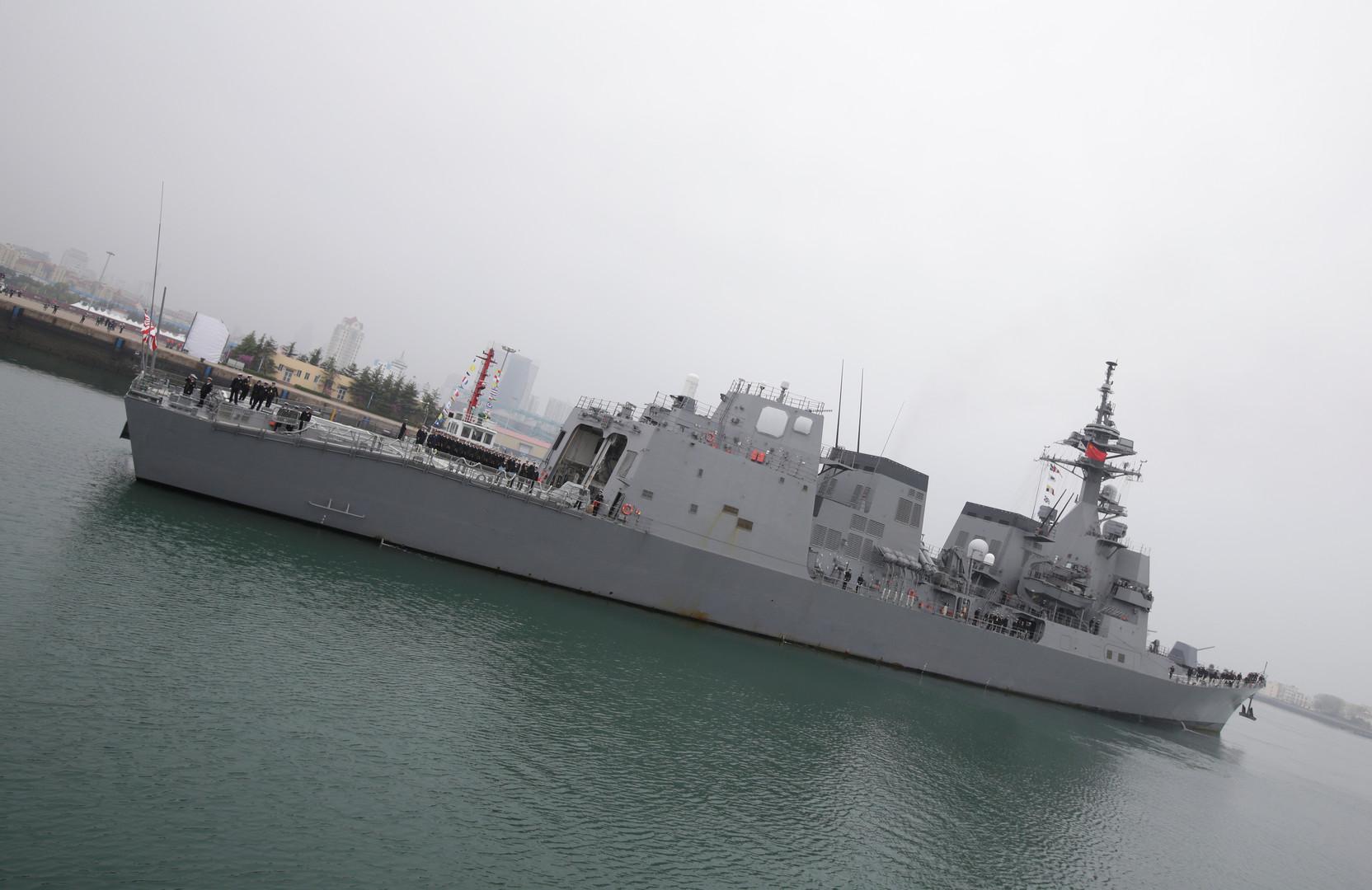 سفن حربية يابانية بصدد التوجه إلى شواطئ إيران