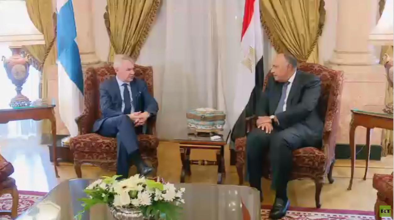 مباحثات مصرية فنلندية حول السودان