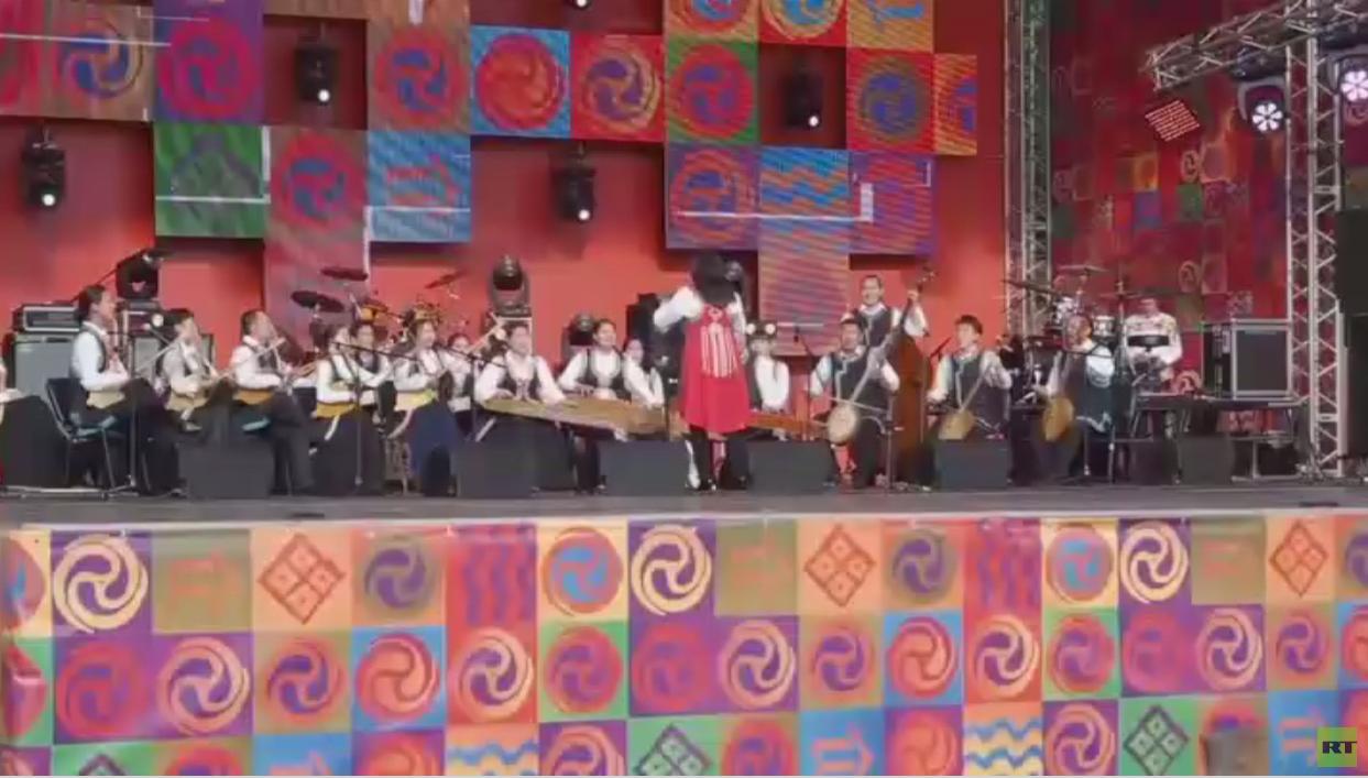 """""""عالم سيبيريا"""" مهرجان شعوب المنطقة"""