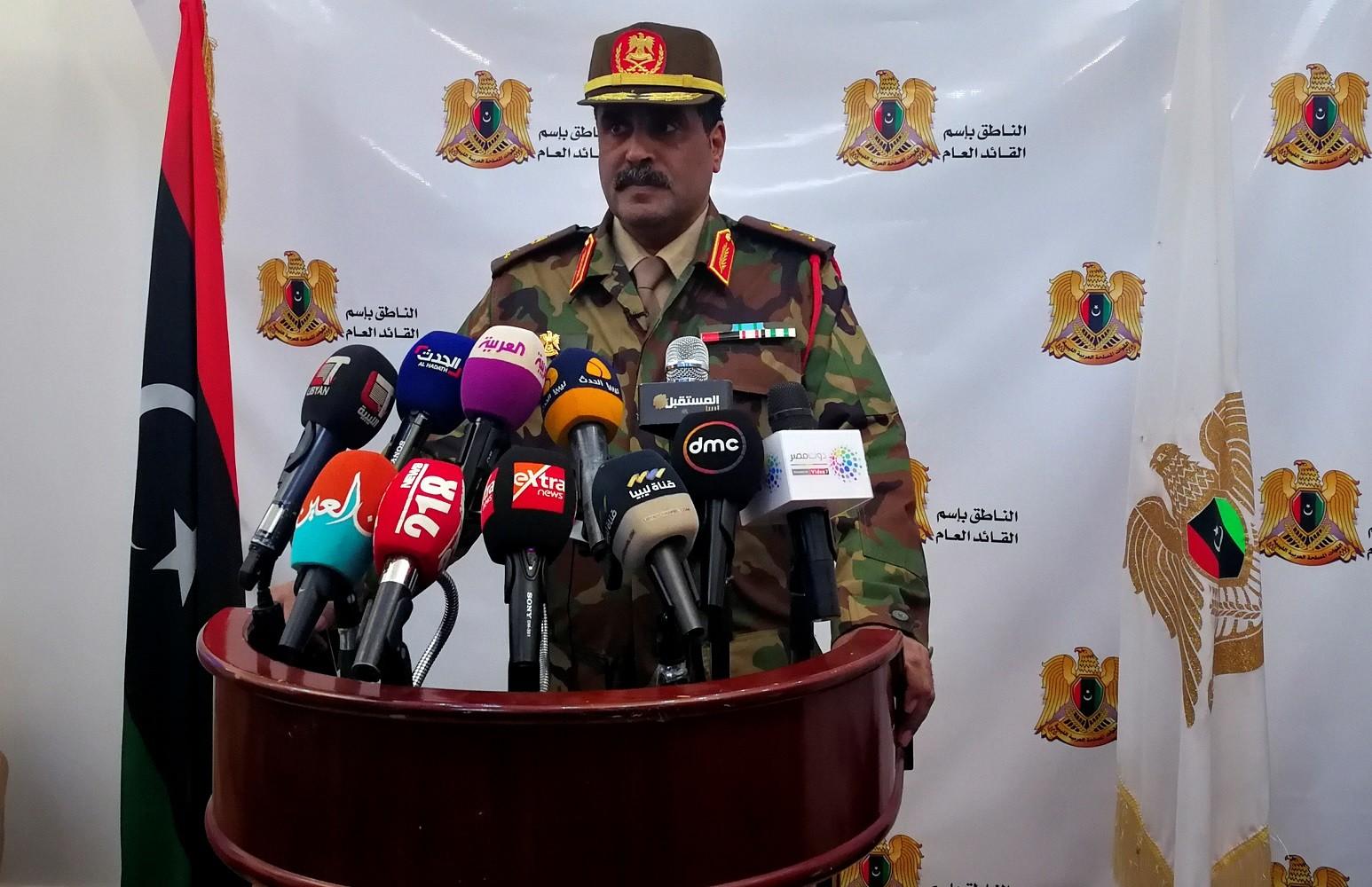 المسماري: قواتنا تحقق تقدمات يوميا على مشارف طرابلس