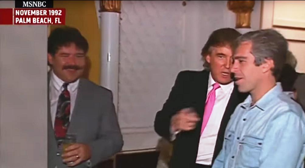 شاهد.. ترامب وإبشتاين معا في حفل عام 1992
