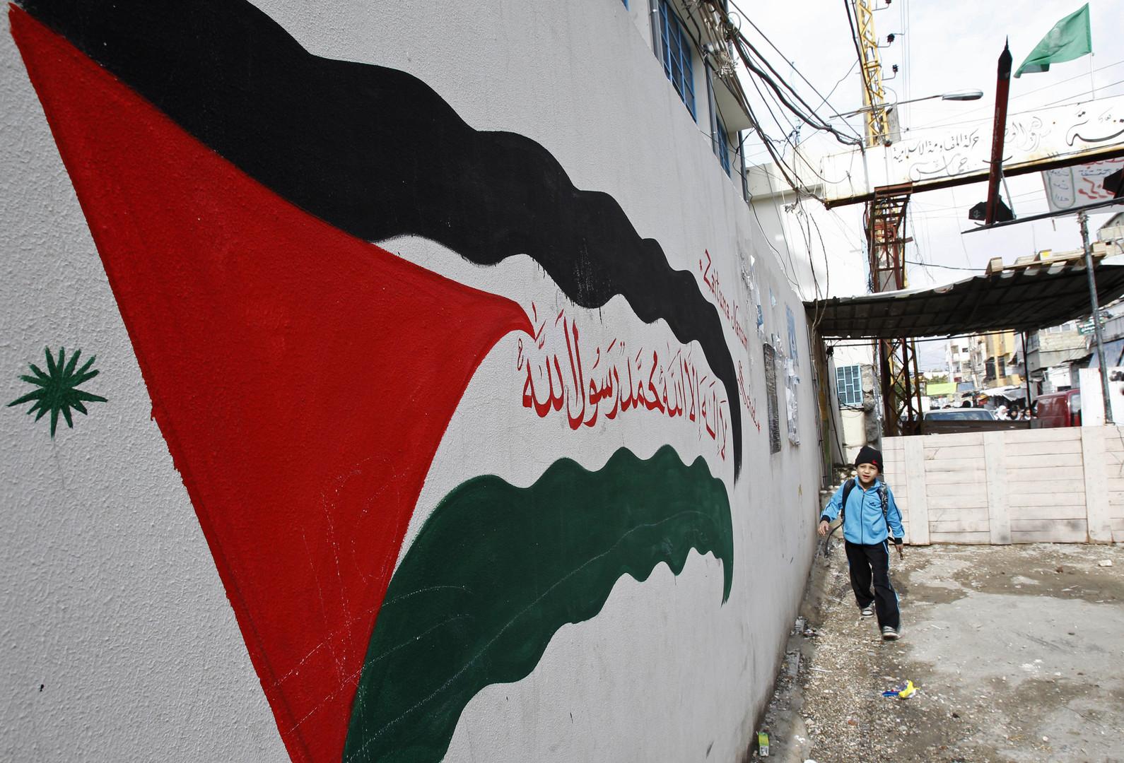 مخيم عين الحلوة، لبنان- أرشيف