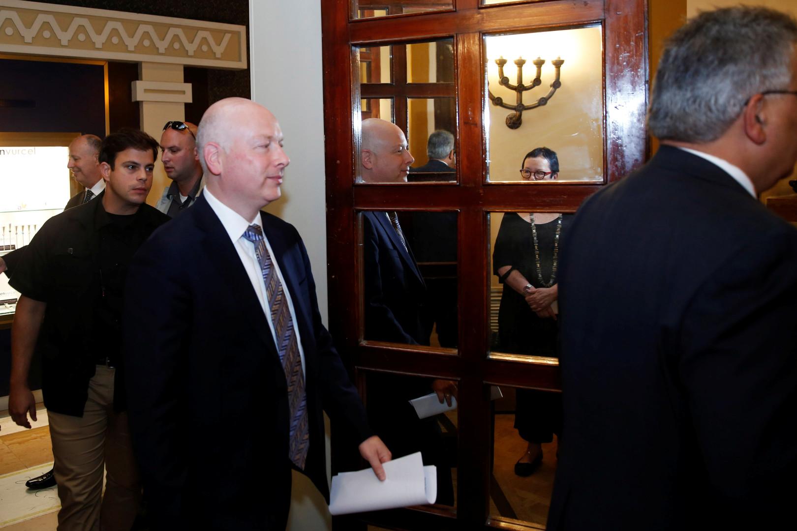 مبعوث ترامب: إسرائيل