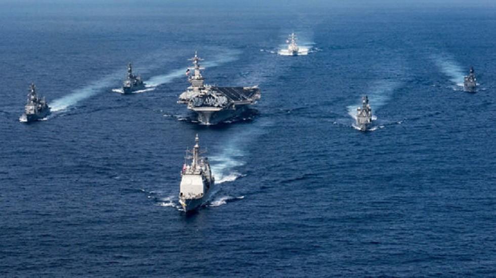 مسؤولون أمريكيون يطلعون دبلوماسيين أجانب على خطة للأمن البحري في الخليج