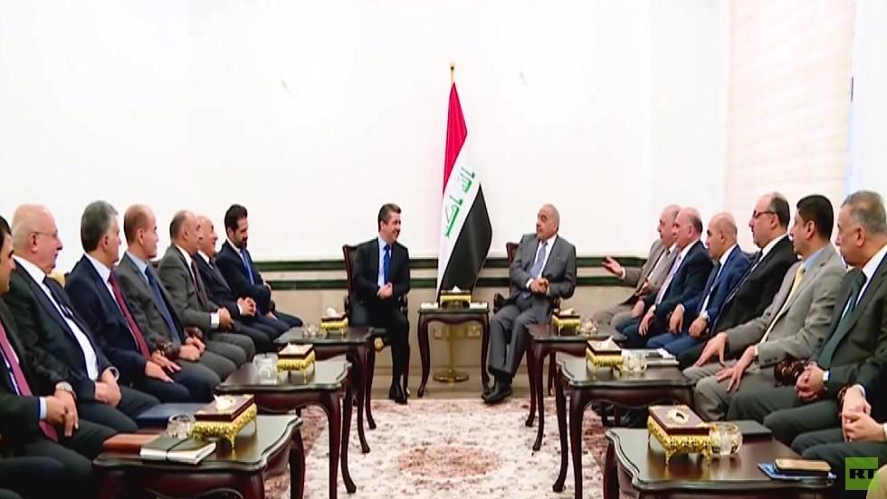 بغداد تبحث مع أربيل ملف النفط