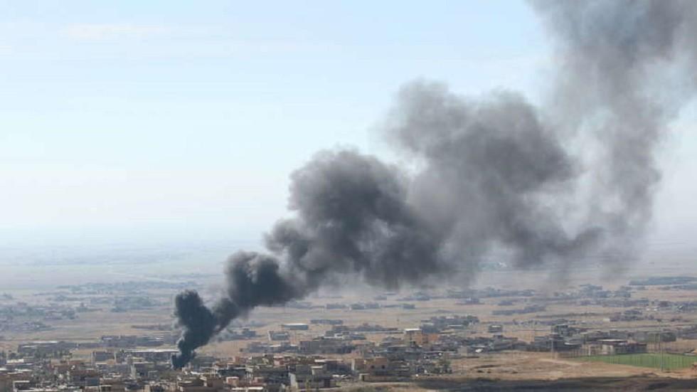 قصف في العراق - أرشيف