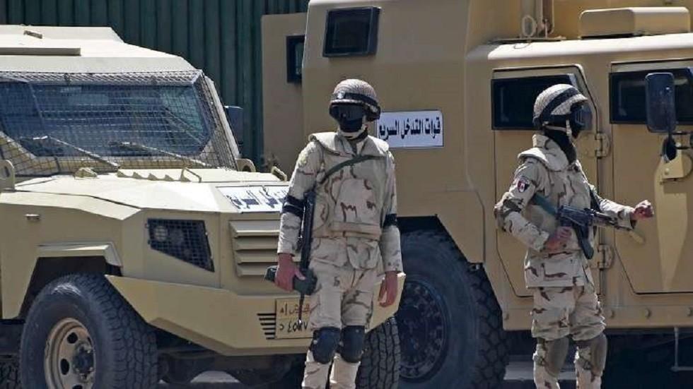 قووات الأمن المصري - أرشيف
