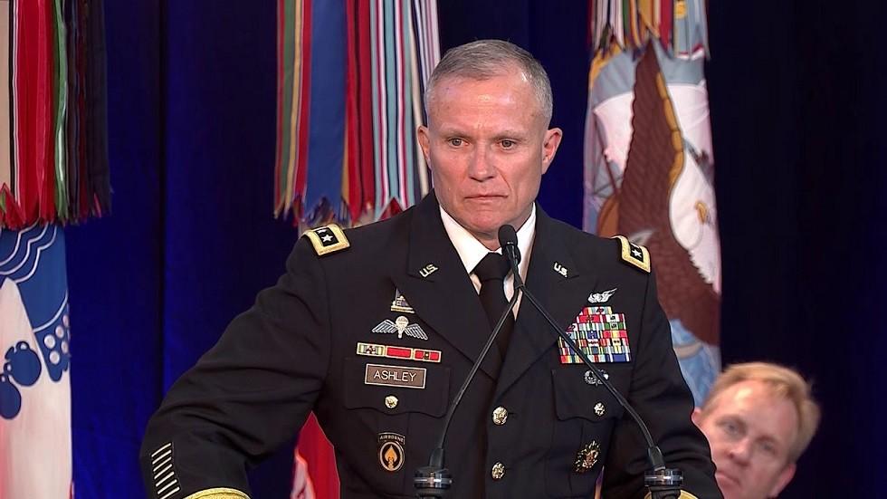 للفتنانت جنرال روبرت آشلي