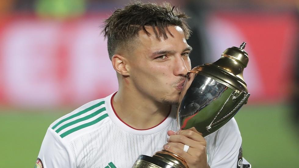 الجزائري بن ناصر أفضل لاعب في كأس الأمم الإفريقية 2019