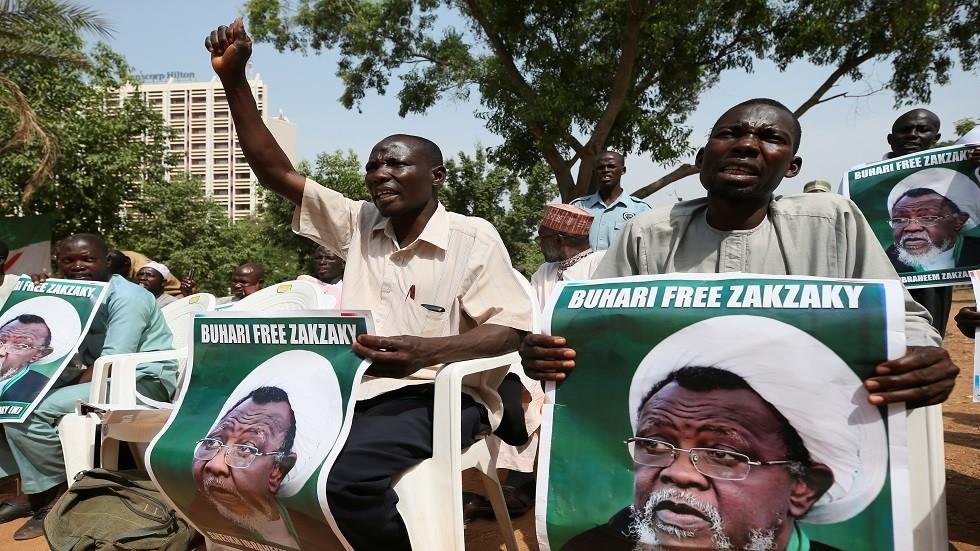 إيران تطالب نيجيريا بنقل زكزكي إلى طهران للعلاج