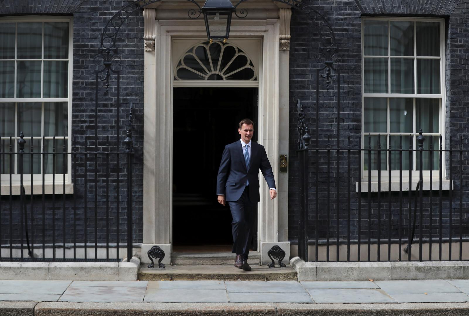 وزير الخراجية البريطاني جيريمي هانت