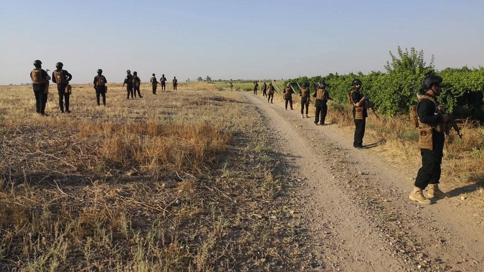 العراق.. القوات الأمنية والحشد الشعبي تطهر 12 قرية شمالي بغداد