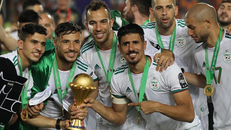 قيمة نجم منتخب الجزائر المالية تقفز أربعة أضعاف بعد التتويج باللقب الإفريقي