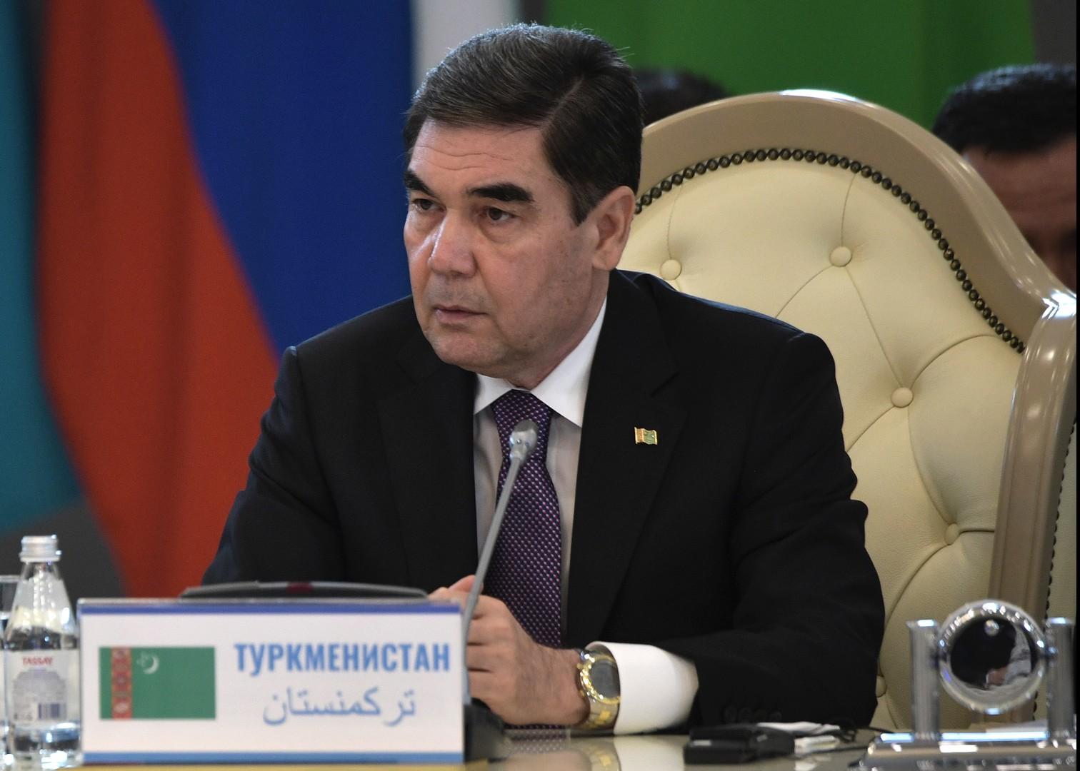 رئيس تركمانستان، قربان قولي بيردي محمدوف