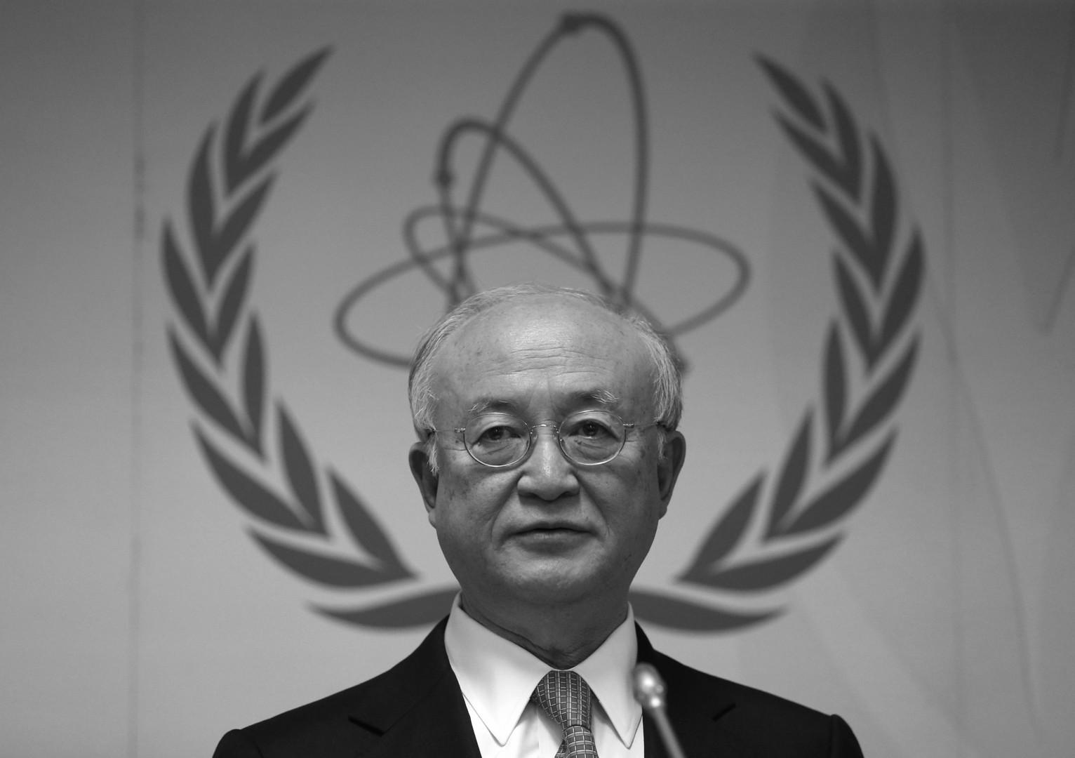 الوكالة الدولية للطاقة الذرية تنعى مديرها العام يوكيا أمانو