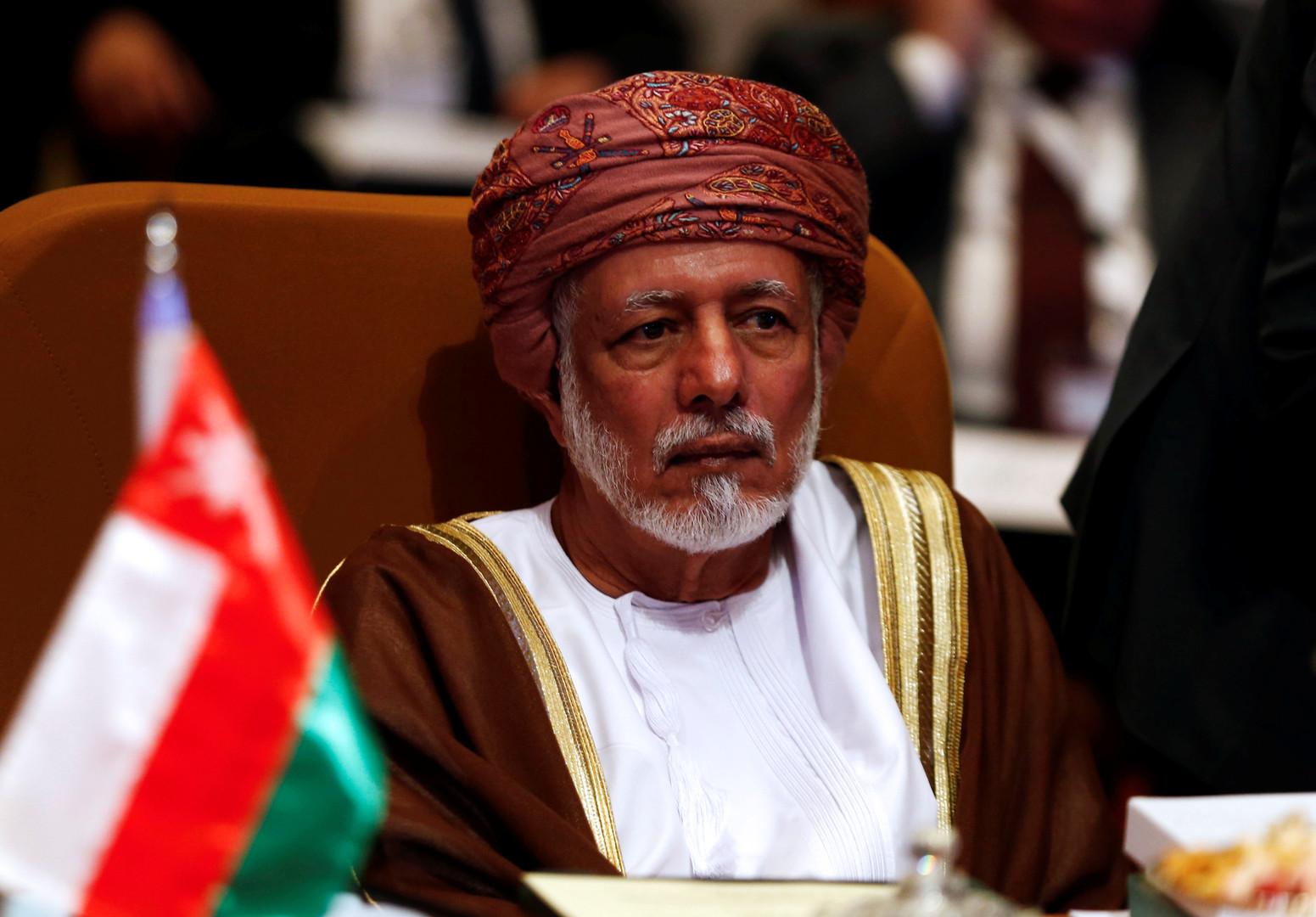 وزير خارجية سلطنة عمان