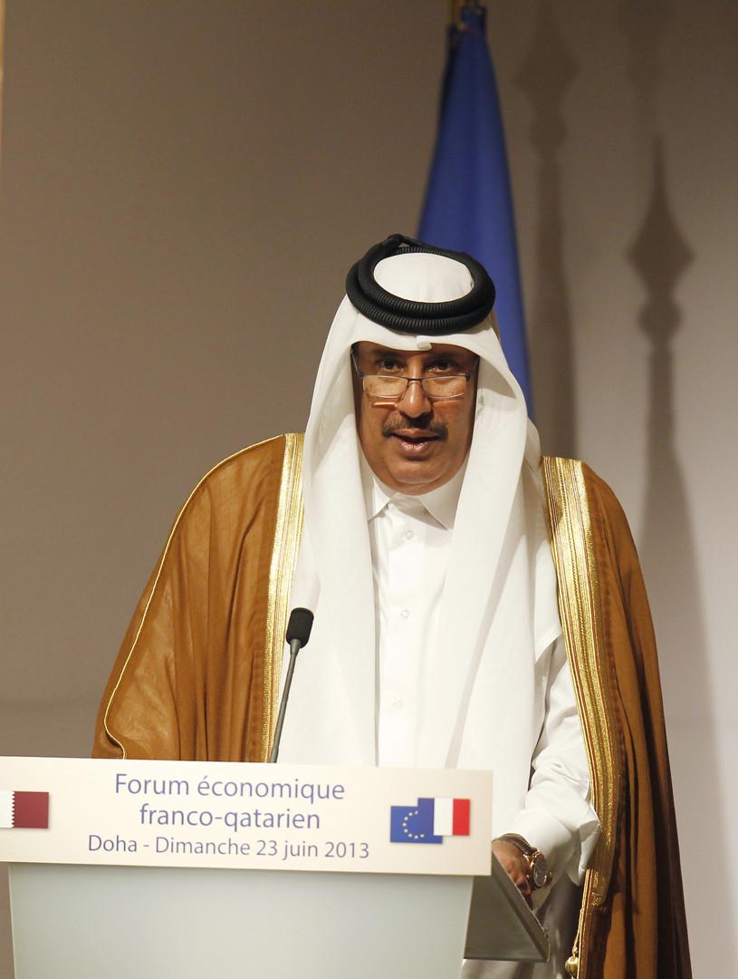 رئيس وزراء قطر السابق، الشيخ حمد بن جاسم آل ثاني