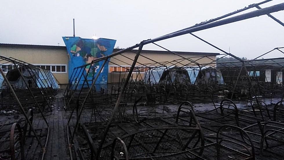 قتلى وجرحى بين الأطفال بحريق في مخيم صيفي شرقي روسيا