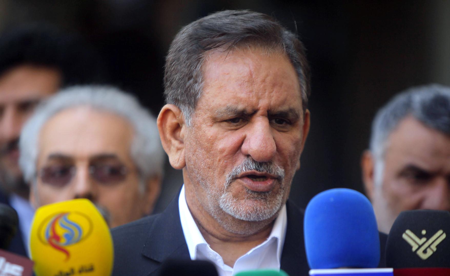 نائب الرئيس الإيراني: إنشاء تحالف دولي لحماية الخليج سيجلب انعدام الأمن