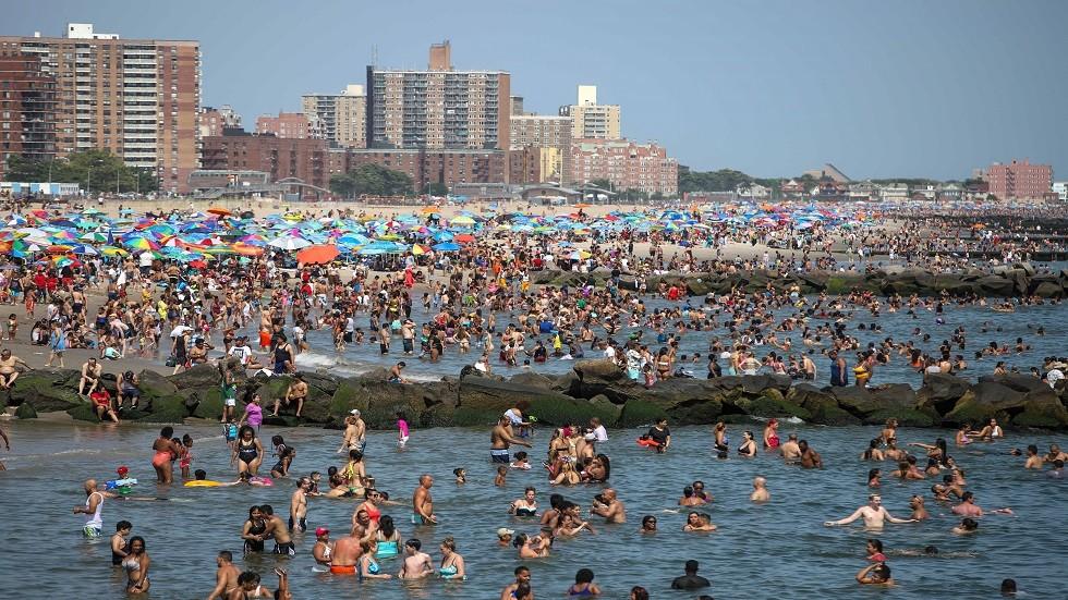 موجة الحر سبقت هطول الأمطار الغزيرة في نيويورك