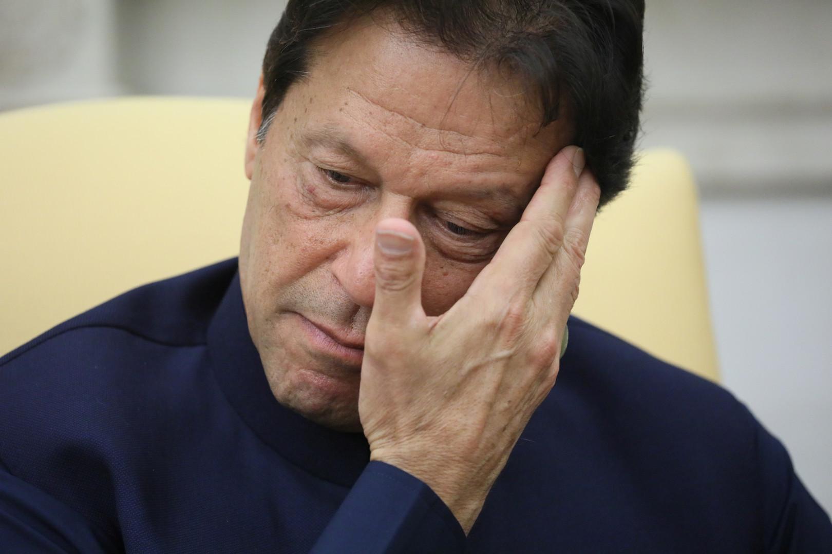 رئيس الوزراء الباكستاني، عمران خان