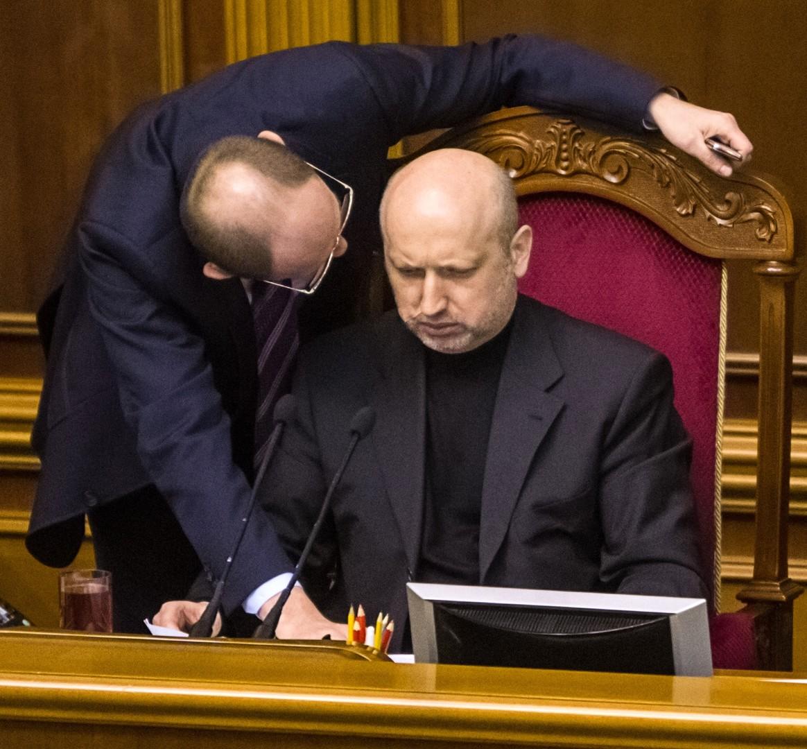 السكرتير السابق لمجلس الأمن القومي والدفاع الأوكراني، ألكسندر تورتشينوف (صورة أرشيفية)