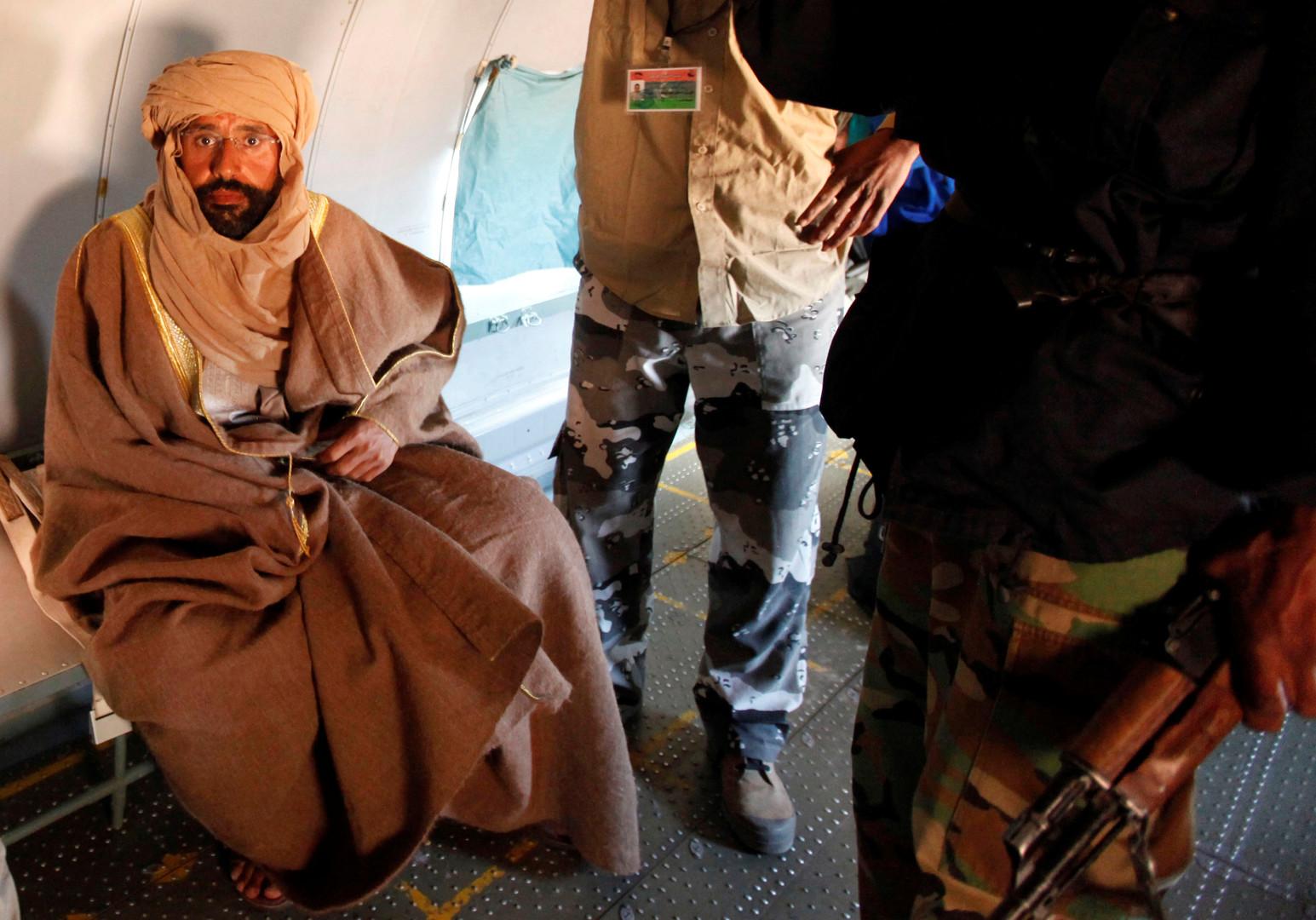 القضاء اللبناني يصدر مذكرة توقيف بحق سيف الإسلام معمر القذافي!