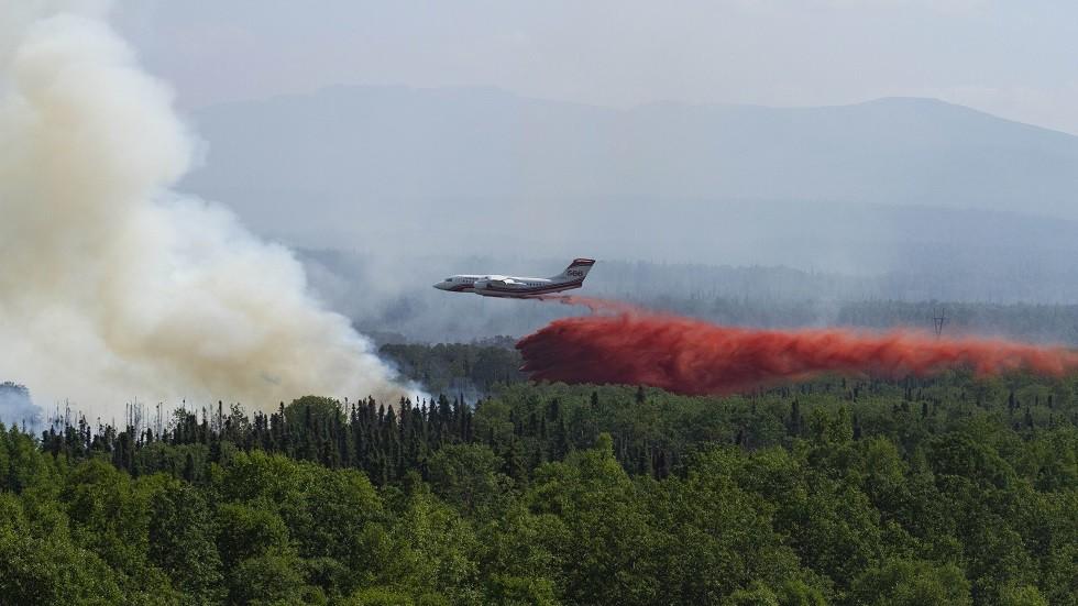 عالم يحذر من كميات ثاني أكسيد الكربون المنبعثة من حرائق الغابات