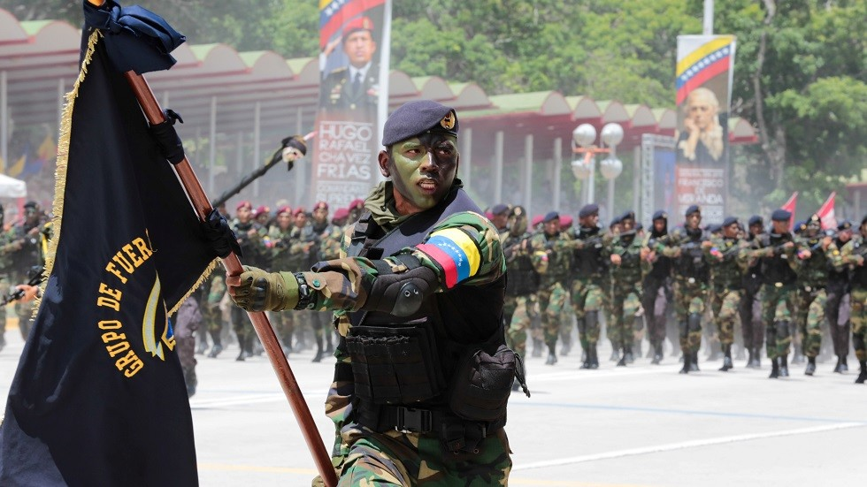 انطلاق مناورات عسكرية ضخمة في فنزويلا