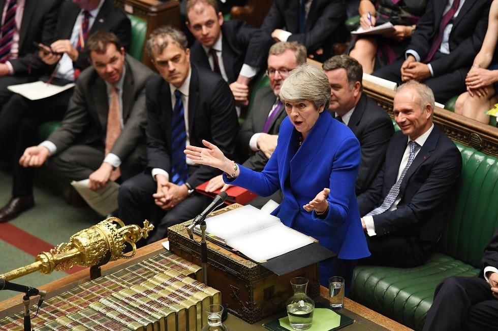 رئيسة الوزراء البريطانية السابقة تيريزا ماي