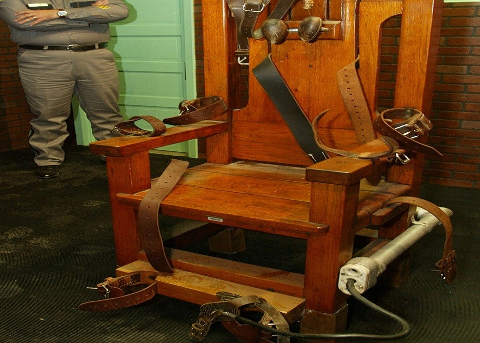 كرسي يستخدم في الإعدام بالكهرباء