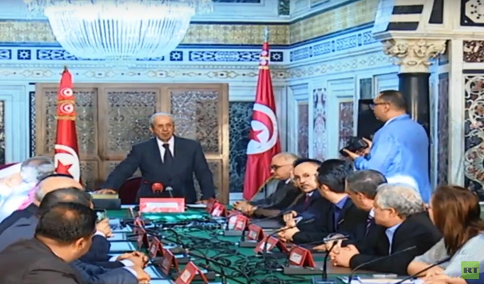 رئيس مجلس النواب التونسي يؤدي اليمين الدستورية قائما بمهام الرئيس
