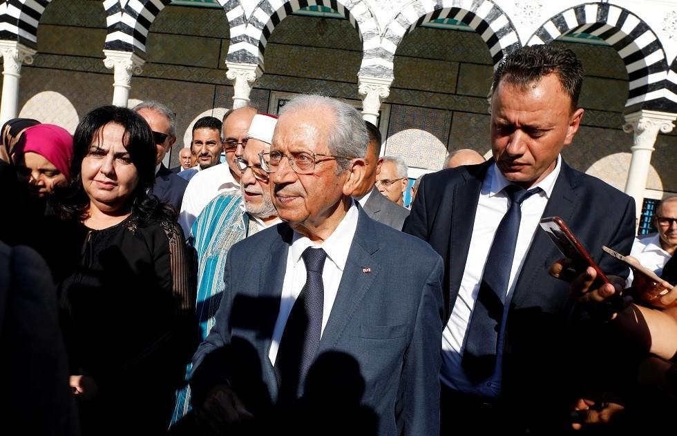 الرئيس التونسي المؤقت، محمد الناصر