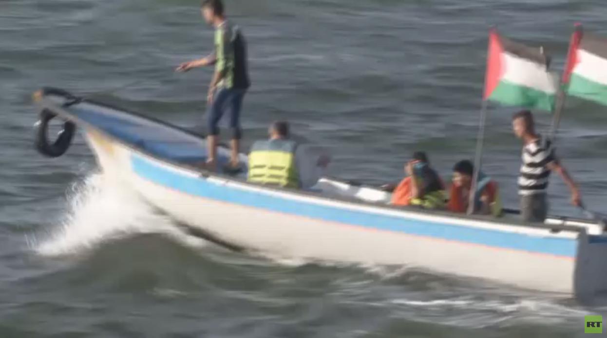 معاناة الصيادين في قطاع غزة -