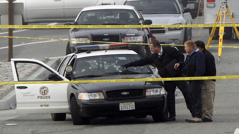 سيارة تابعة لشرطة لوس أنجلوس (أرشيف)