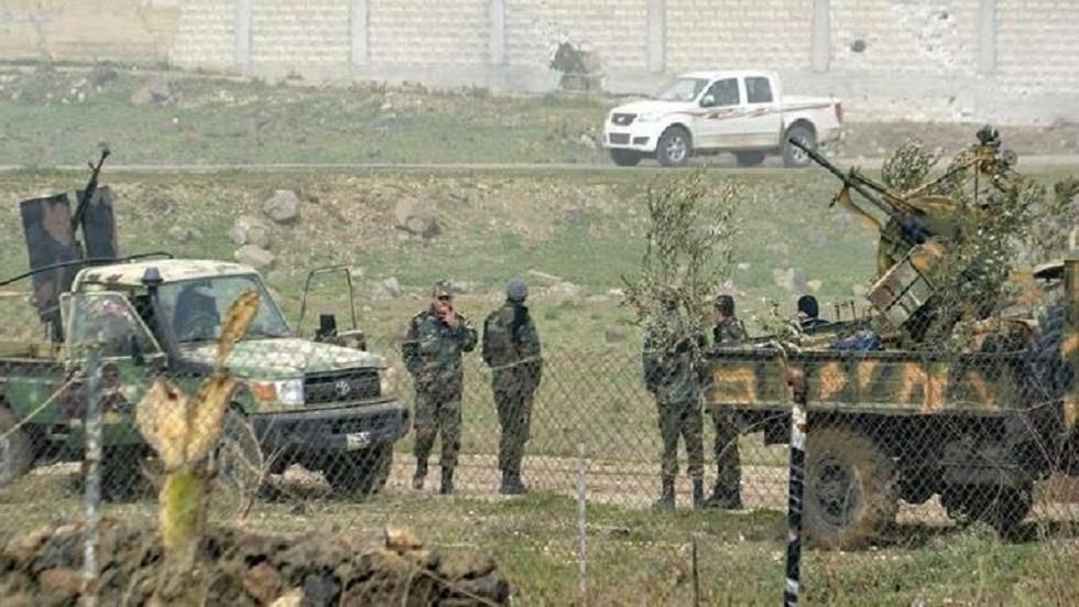 قتلى وجرحى من عناصر الجيش السوري جراء انفجار عبوة ناسفة في ريف السويداء