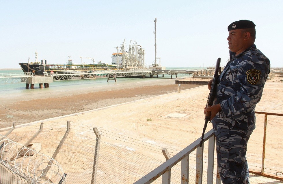 عنصر من القوات العراقية في البصرة - أرشيف -