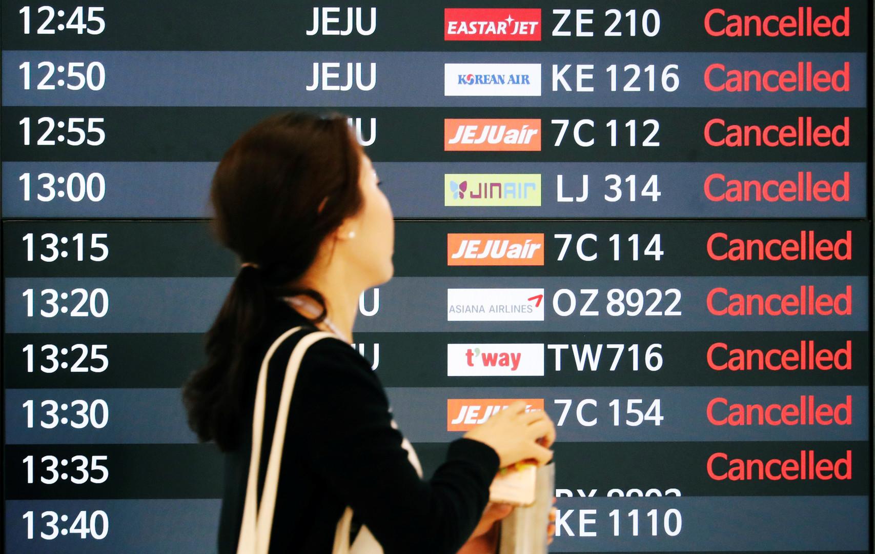 تعليق رحلات جوية من كوريا الجنوبية إلى اليابان وسط خلاف بين الدولتين
