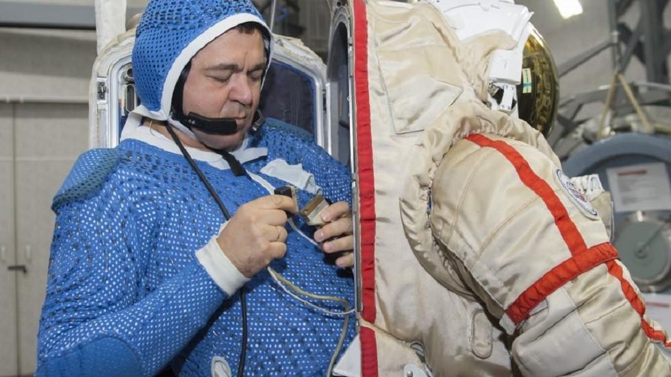 رائد الفضاء أوليغ سكريبوتشكا