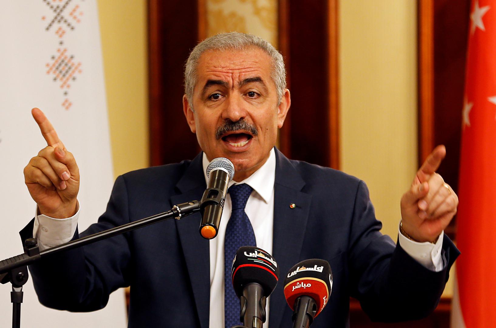 محمد اشتيه رئيس الوزراء الفلسطيني