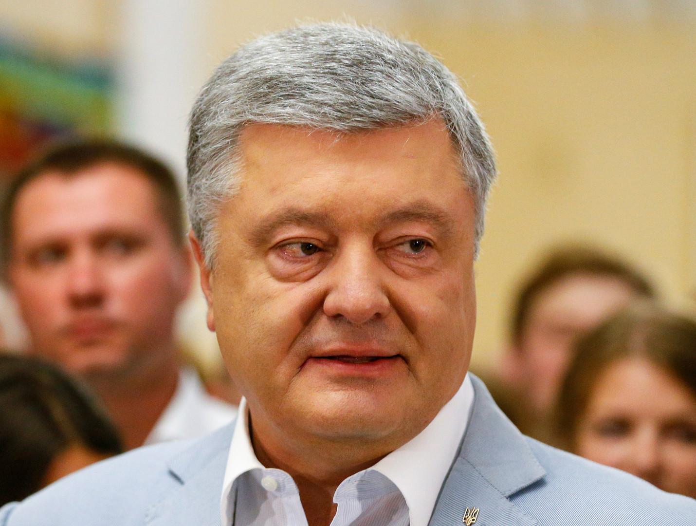 الرئيس الأوكراني السابق بيترو بوروشينكو