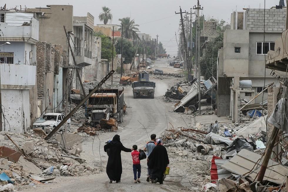 لاجؤون عراقيون - أرشيف -