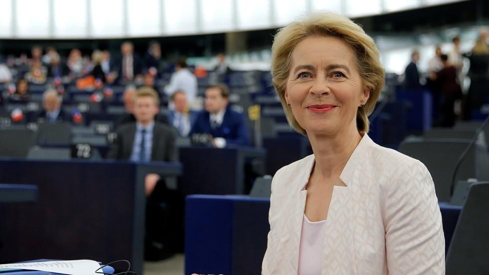 رئيسة المفوضية الأوروبية الجديدة أورسولا فون دير لاين