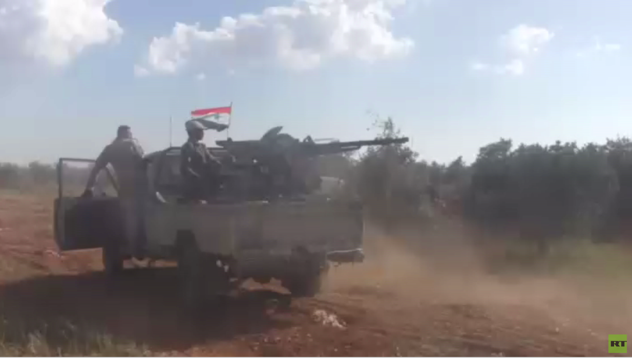 الجيش السوري يواصل تقدمه بريف حماة