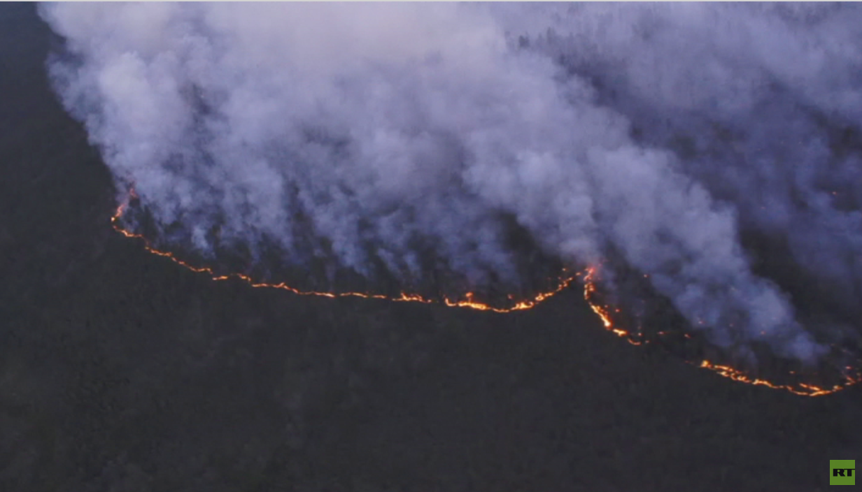 حرائق غابات سيبيريا تلتهم 3 ملايين هكتار