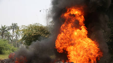 Fifty people were killed and 70 injured when a fuel truck exploded in southeastern Nigeria